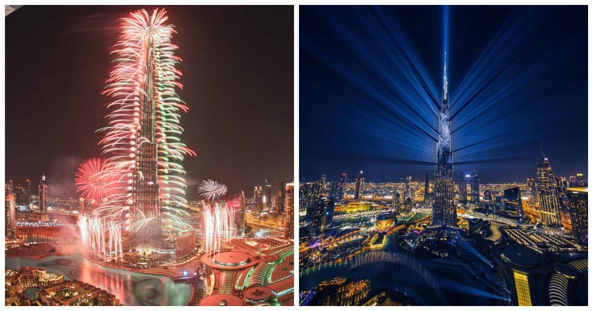 Такого светового шоу, как в Дубае, еще никто в мире не видел!