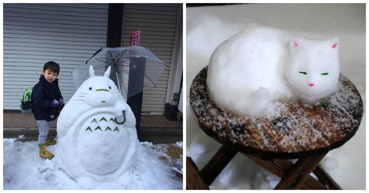 Жители Токио уже давно не видели столько снега