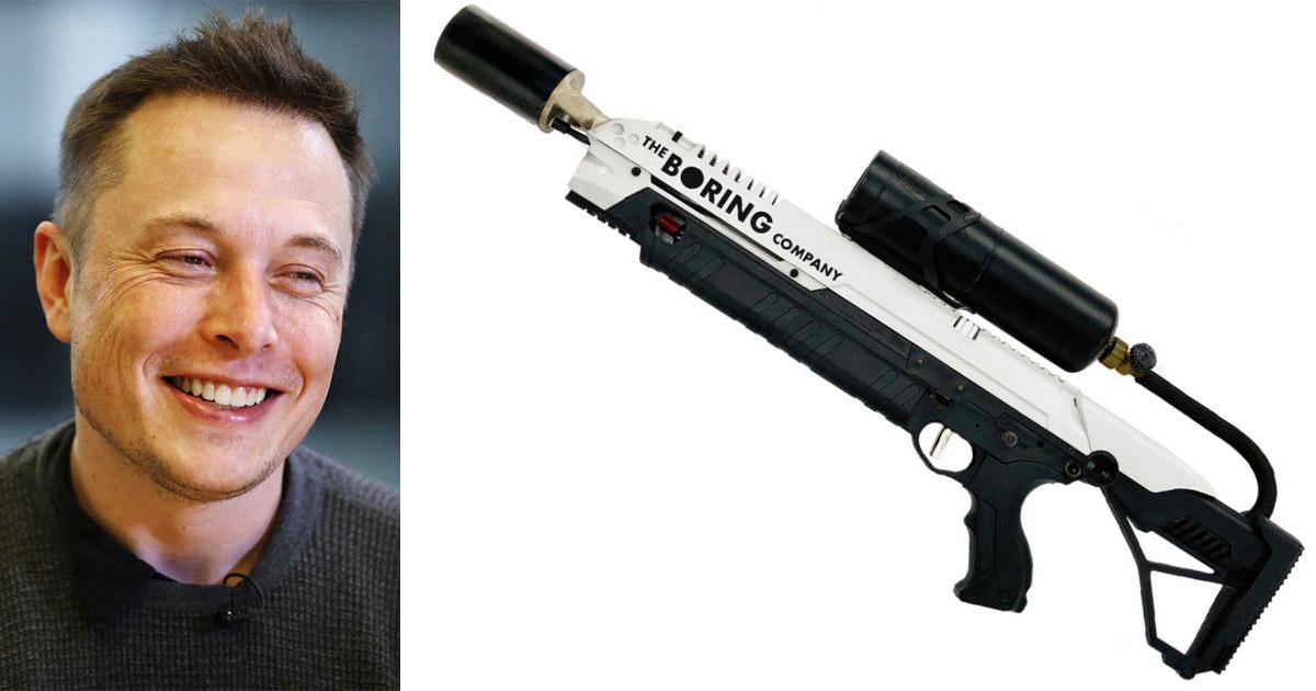 Илон Маск теперь планирует продавать огнеметы