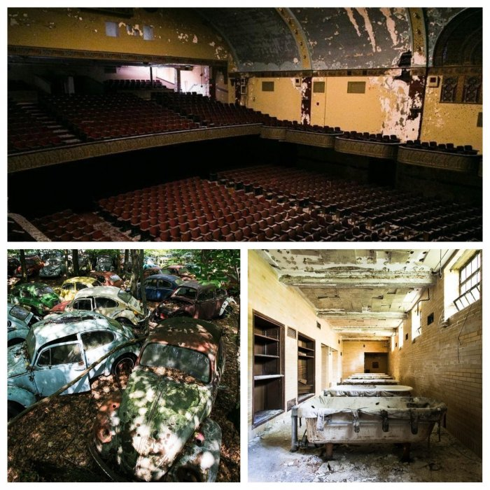 Места-призраки: кадры заброшенной Америки, где не бывает никого, кроме фотографов