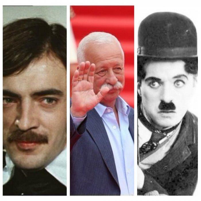 Как выглядели самые знаменитые усачи без усов