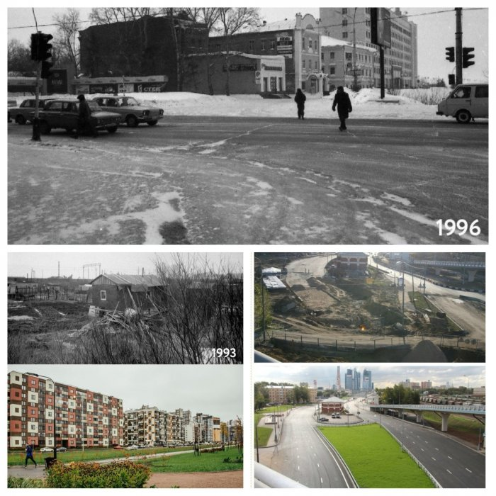 Между прошлым и будущим: эти фотографии в сравнении показывают, как меняется наша жизнь