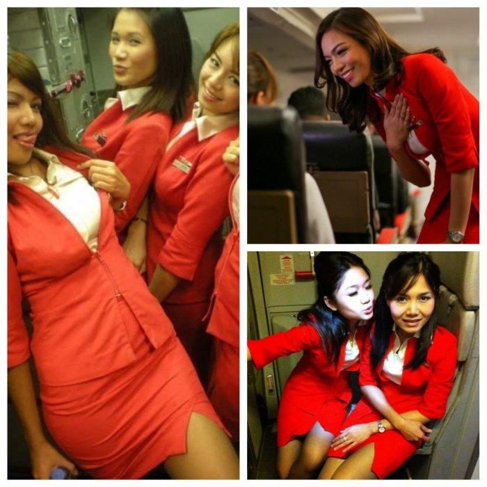 Красотки-стюардессы возмутили пассажирку