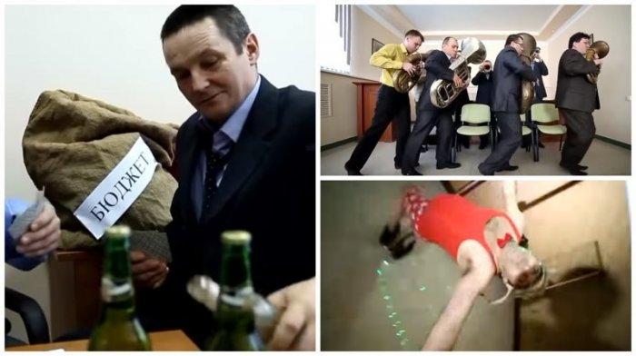 Заводной клип от чиновников оренбургского правительства