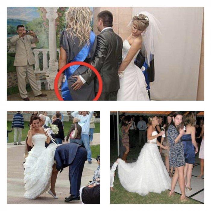 Горько и смешно: порой на свадьбах происходят уморительные вещи