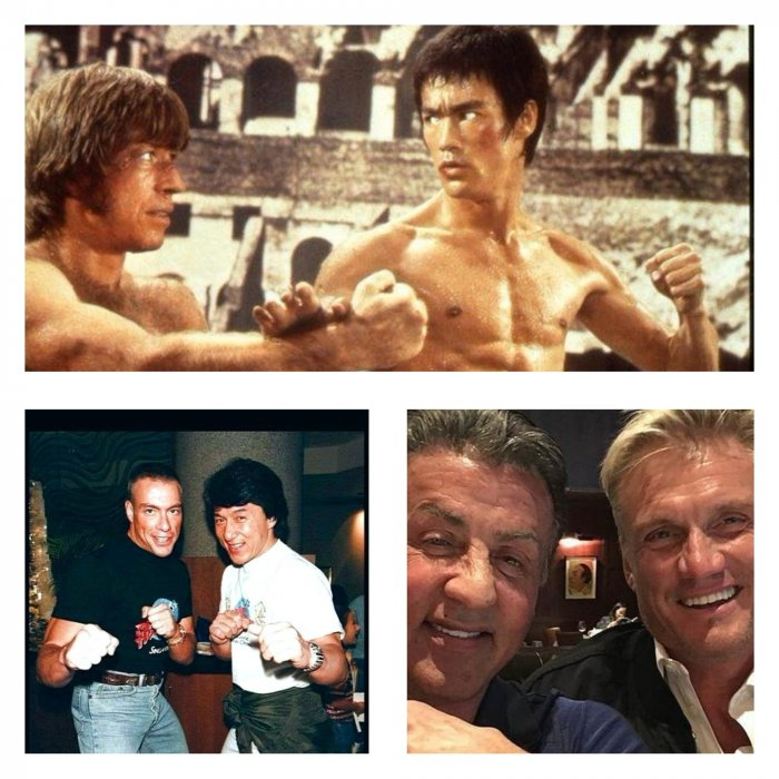 Ностальгические фото легендарных актеров фильмов боевых искусств