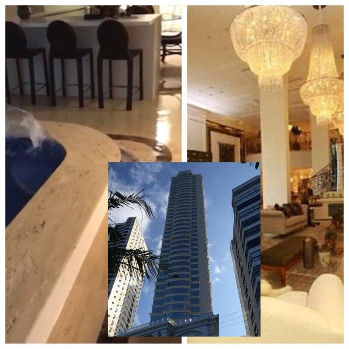 Раскачивающийся от шторма элитный небоскреб привел жильцов в ужас