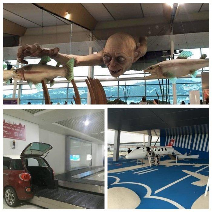 Эти аэропорты приятно удивят вас своими креативными решениями