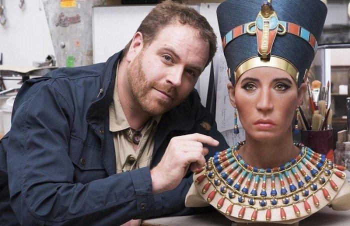 """""""Красавица пришла"""": ученые воссоздали лицо Нефертити с помощью 3D-сканера"""