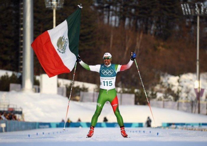Мексиканский лыжник финишировал последним и сорвал овации соперников