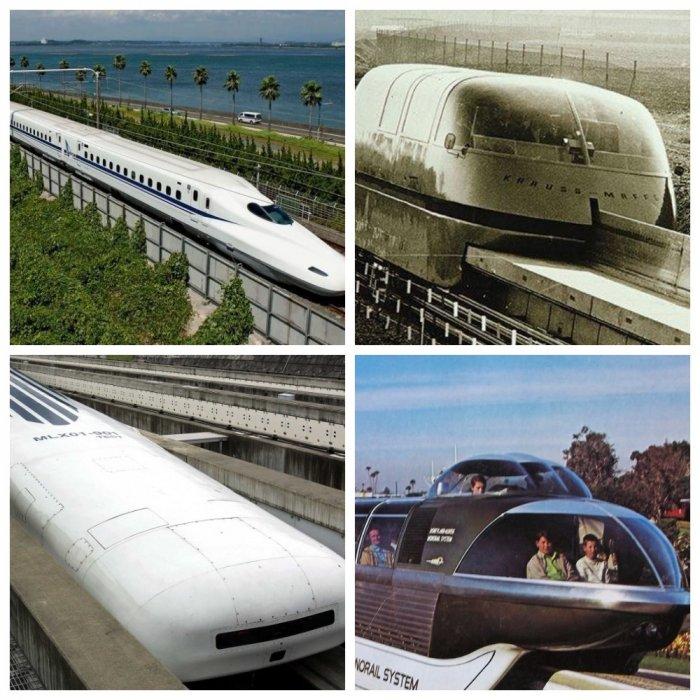 Самые фантастические поезда в мире