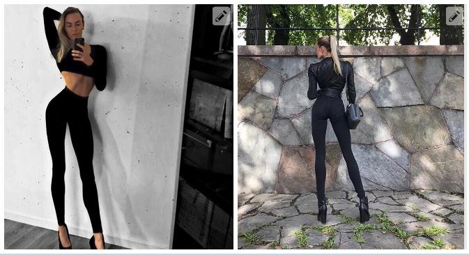 Невероятно длинные ноги этой шведской модели позволили ей заработать миллионы