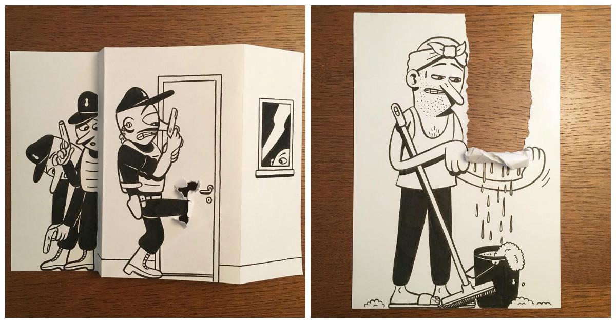 Забавные картинки от датского художника без имени