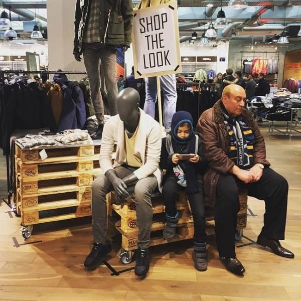 Мужчинам шопинг противопоказан