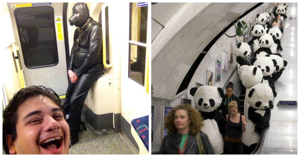 Пользователи метро просто не могут перестать выпендриваться