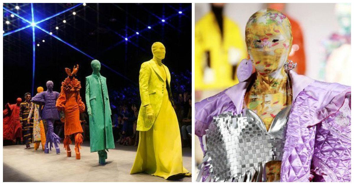 Неделя моды в Китае, или какие чехлы для головы нынче в тренде