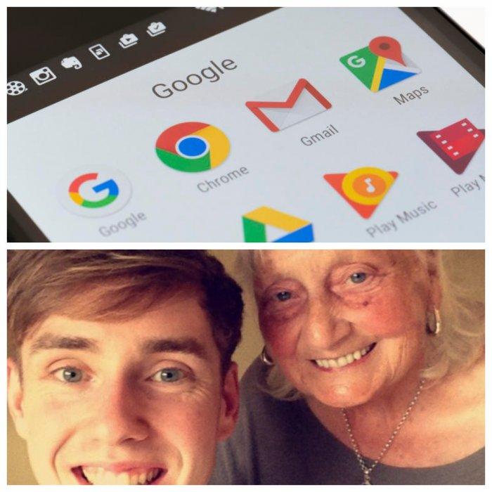 85-летняя бабуля покорила Google своим вежливым запросом