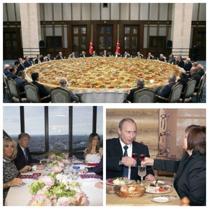 Ужин с президентом: как трапезничают сильные мира сего
