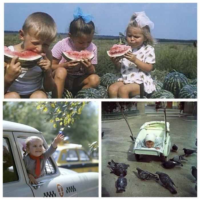 Рожденные в СССР: кадры счастливого советского детства