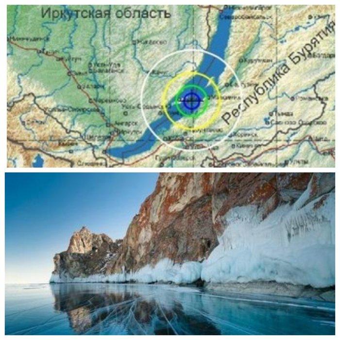 Ледяное землетрясение на Байкале едва не смыло рыбаков