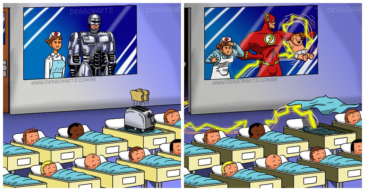 Какие они - дети супергероев и не только