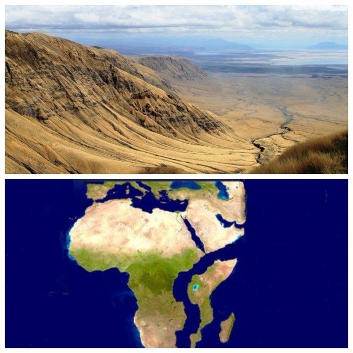 Африку расколет на две части? В Кении появилась гигантская трещина