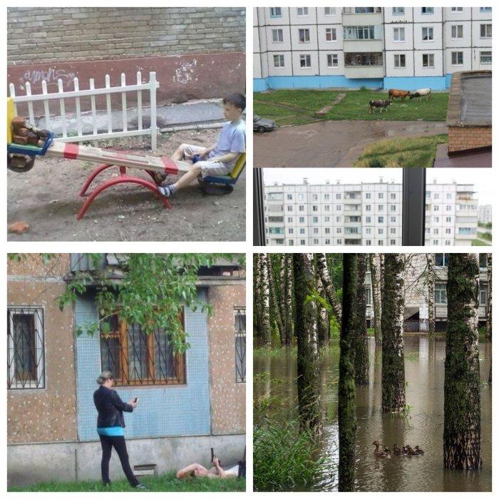 Российские дворы, суровые и беспощадные