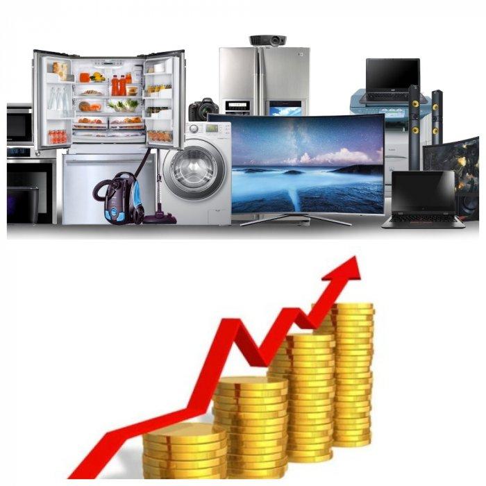 Эксперты ждут повышения цен на электронику и бытовую технику