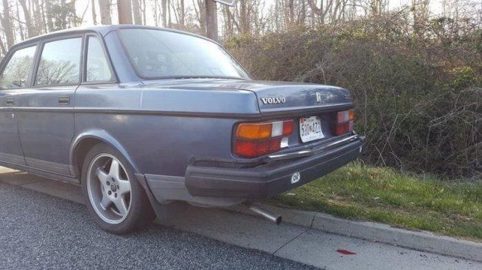 Что будет, если Volvo из 80-х столкнется с современной Kia