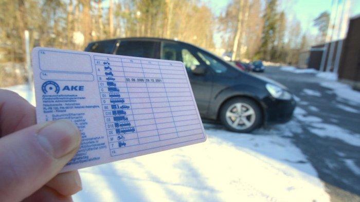Как получают права в Финляндии