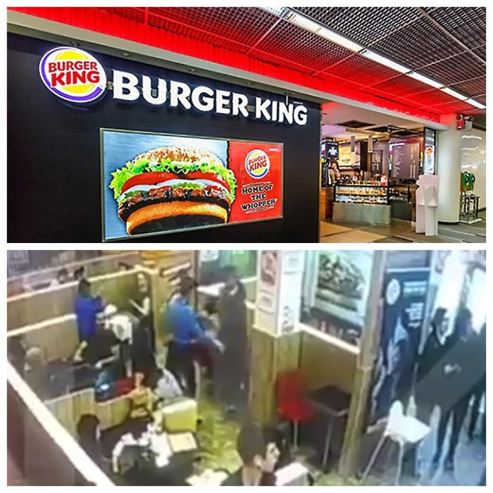Охранник Burger King избил клиента-рэпера и сломал ему палец