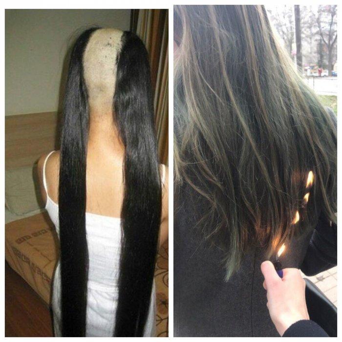 О нешуточных проблемах девушек с длинными волосами