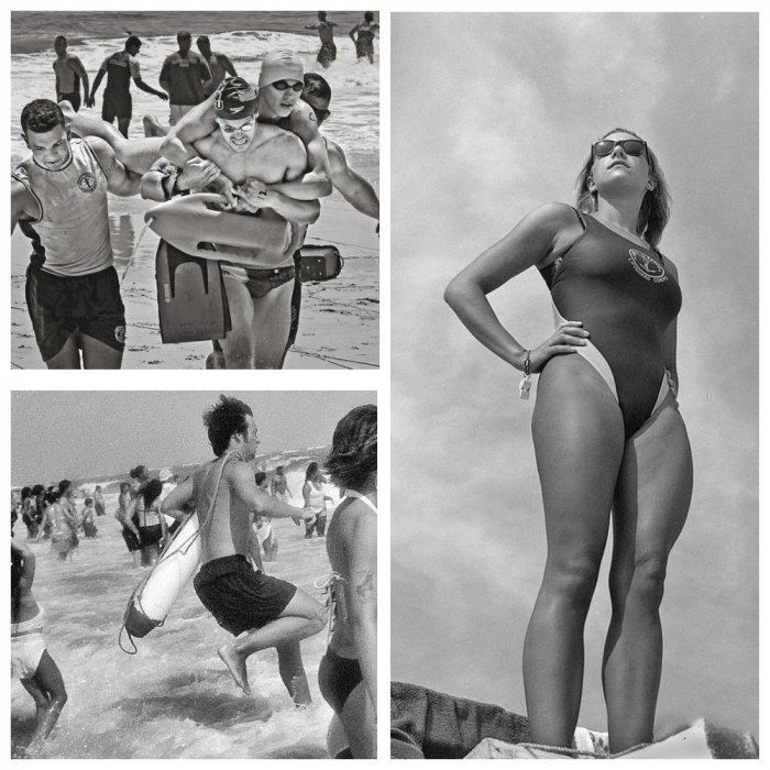Непростые будни пляжных спасателей Нью-Йорка в фотоальбоме Джозефа Сзабо