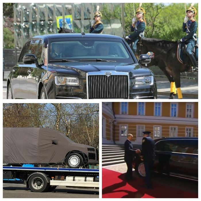 Вместо Pullmann - Aurus Senat: Путин пересел на российский лимузин