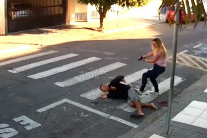 Бразильская мама всадила три выстрела в незадачливого грабителя