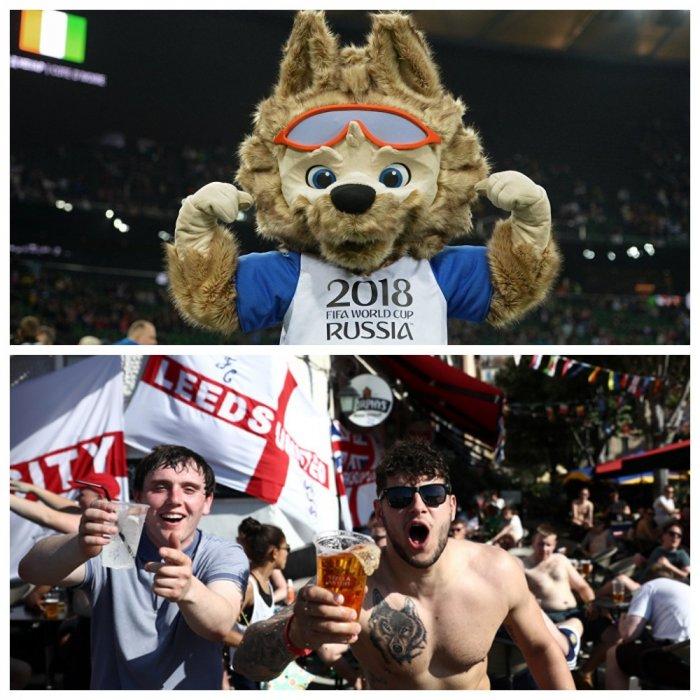 Британских фанатов предостерегли от смешивания водки с пивом