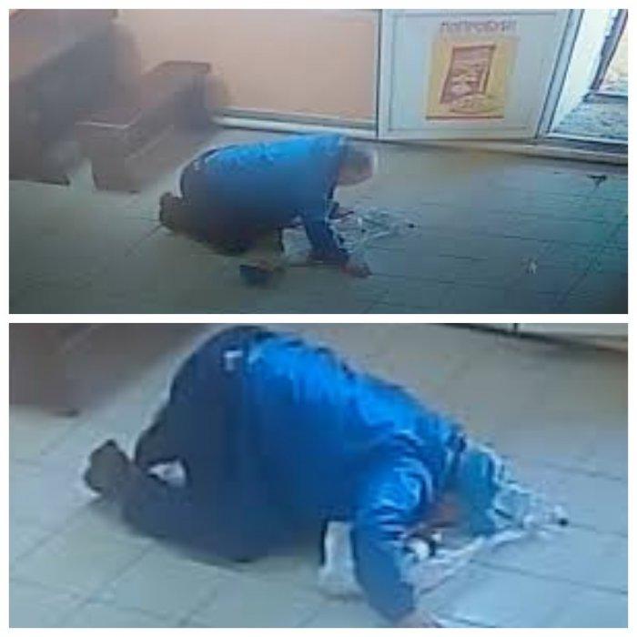 Пол-литра? Вдребезги?! Мужчина разбил бутылку водки и выхлебал ее с пола