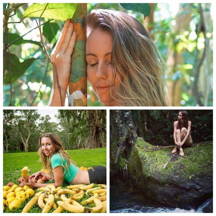 Австралийская блогерша-веган переселилась в джунгли и голышом сливается с природой