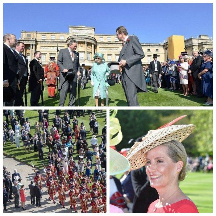 Знатный прием: Елизавета II пригласила всех в Букингемский дворец