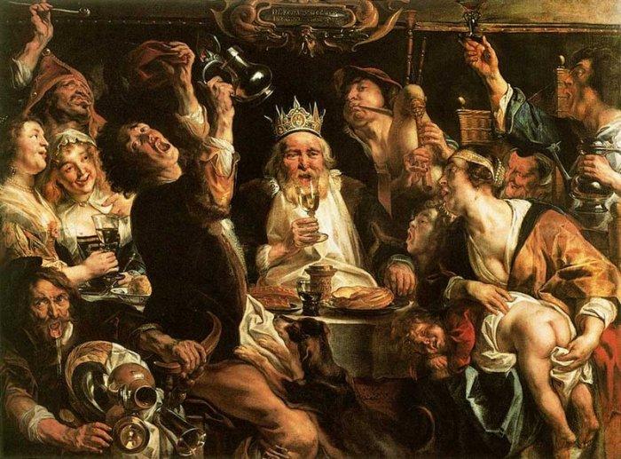 Как выглядели самые дикие пиршества в истории человечества