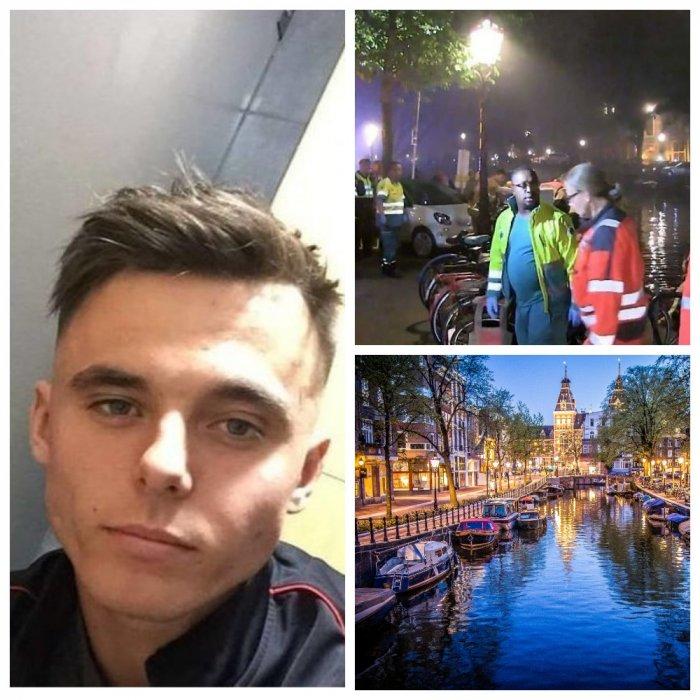 Британский турист погиб в канале Амстердама, справив туда нужду