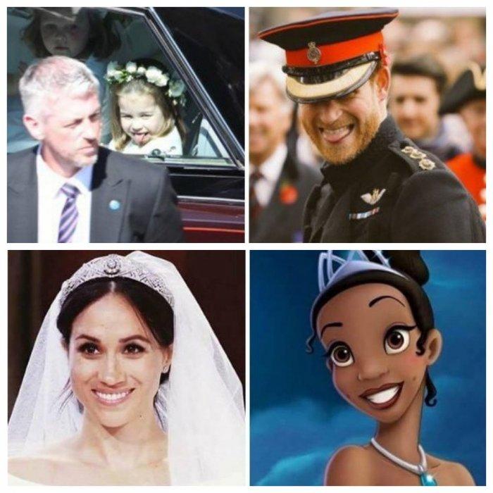 Забавная реакция соцсетей на свадьбу принца Гарри и Меган Маркл