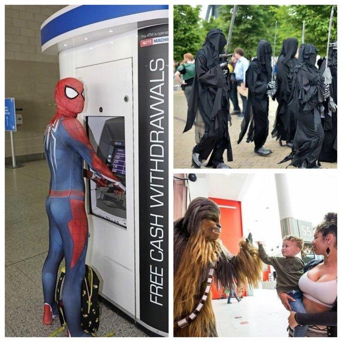 На Лондон высадился десант из супергероев и суперзлодеев