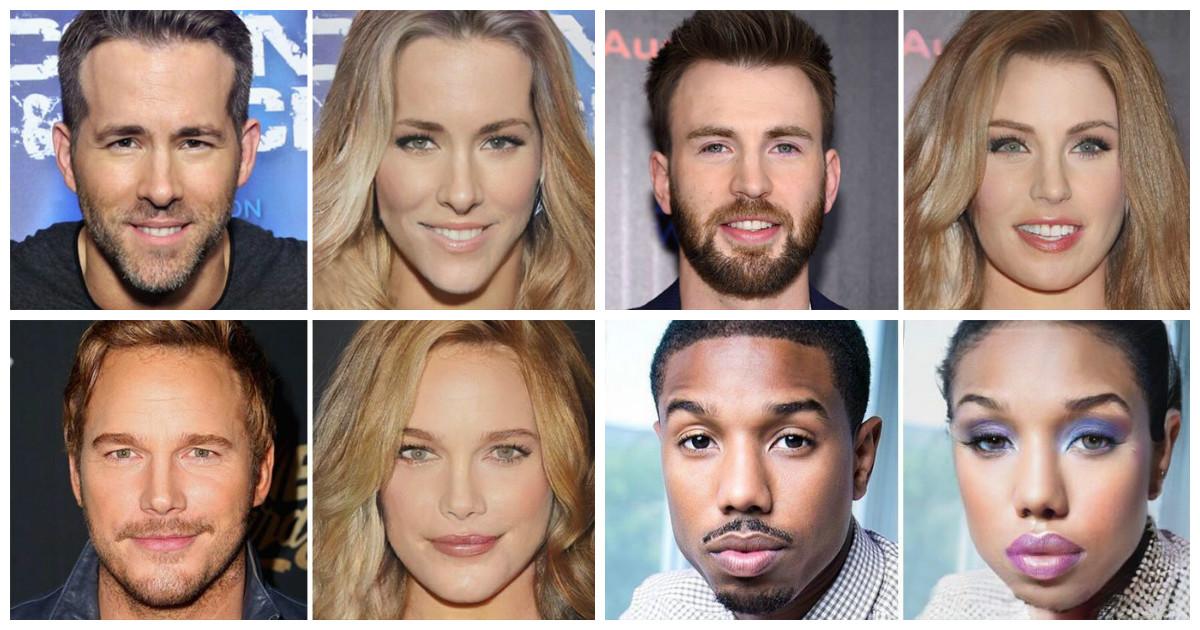 Актеры фильмов вселенной Marvel меняют пол, превращаясь в женщин