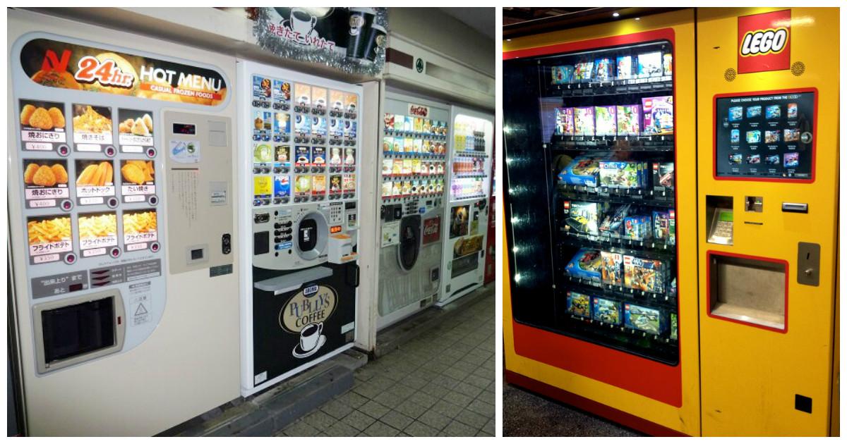 Торговые автоматы, которые не помешали бы и в России
