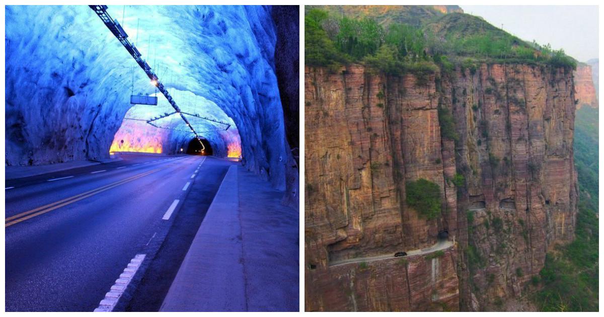 Поражающие воображение тоннели со всего света - опасные и пугающие
