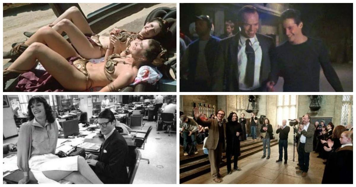 Известные кинофраншизы: что творилось за кадром