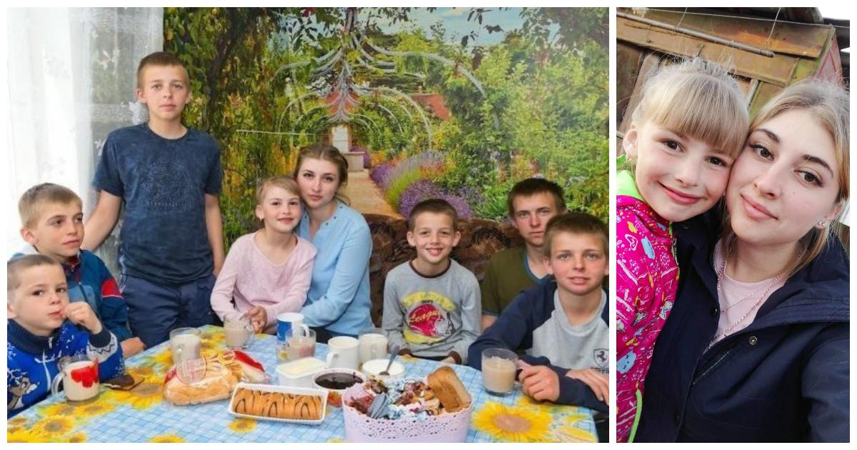 Из старшей сестры в мамы: чтобы не потерять младших братьев и сестру 20-летней девушке пришлось стать главой семьи