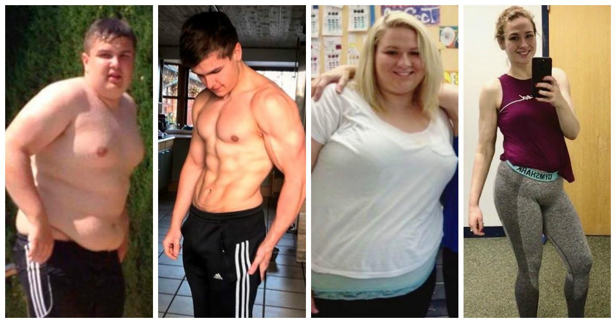 Вдохновляющие изменения мотивирующие на похудение