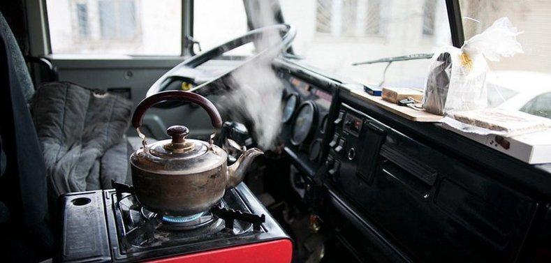 Жизнь в рейсах, или как выглядит кабина дальнобойщика изнутри